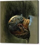 Despair. Why Are You Downcast? Canvas Print