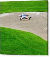 Desperate Golfer Canvas Print