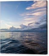 Destin High Tide Canvas Print