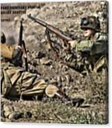 Destiny - Us Army Infantry Canvas Print
