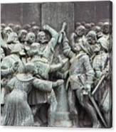 Detail From The Reformation Monument In Copenhagen Canvas Print