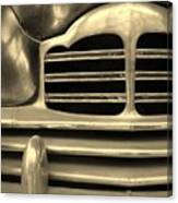 Detail Of An Old Car Canvas Print