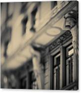 Detail Of Building Front Canvas Print