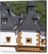 Detail Of Burg Pfalzgrafenstein Canvas Print