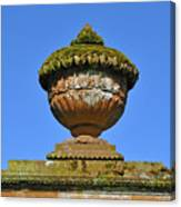 Detail Of Funerary Urn. Canvas Print