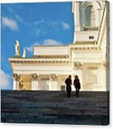 Detail Of Helsinki Cathedral Canvas Print