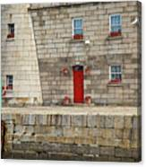 Detail Of Howth Lighthouse Canvas Print