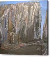 Detail Of Landscape 1/3 Canvas Print