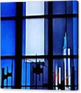 Detail Of Modern Johannes Schreiter Window Mainz 2 Canvas Print