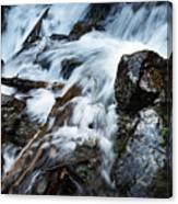 Detail Wild Stream Canvas Print