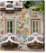 Details Of Casa Batllo In Barcelona 2, Spain Canvas Print