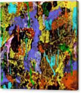 Detour Abstract Art Canvas Print