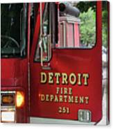 Detroit Fire Department Canvas Print