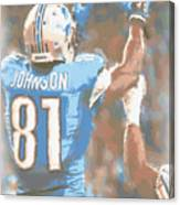 Detroit Lions Calvin Johnson 2 Canvas Print