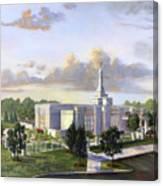 Detroit Michigan Temple Canvas Print