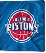 Detroit Pistons Canvas Print