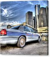 Detroit Police Canvas Print