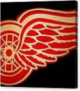 Detroit Red Wings - Scrolled Canvas Print