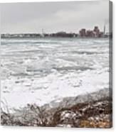 Detroit River Canvas Print