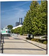 Detroit Riverfront 2 Canvas Print