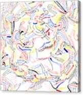 Deviate Canvas Print