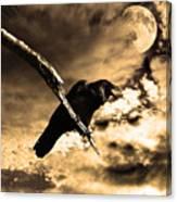 Devil In The Clouds Canvas Print