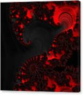 Devil Light   A Fractal Abstract Canvas Print