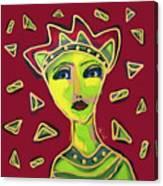 Devil Woman Canvas Print