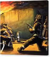 Devil's Doorway II Canvas Print