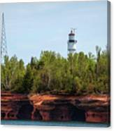 Devils Island Apostle Islands Lighthouse Canvas Print