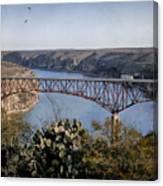 Devils River Hi Bridge Canvas Print