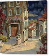 Di Notte Al Mare Canvas Print
