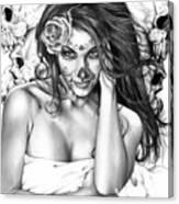 Dia De Los Muertos 2 Canvas Print