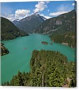 Diablo Lake Canvas Print