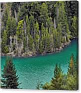 Diabolo Lake North Cascades Np Wa Canvas Print
