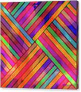 Diagonal Offset Canvas Print