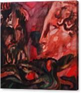 Dialogo Silenzioso Canvas Print