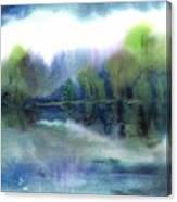 Diamond Bay Canvas Print