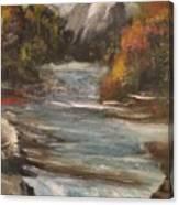 Diamond Falls Canvas Print