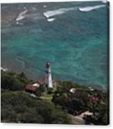 Diamond Head Lighthouse I Canvas Print