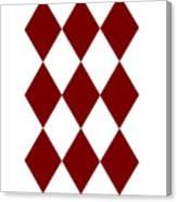 Diamond Poker Card Game Symbol Abstract Modern Art On T-shirts N Pod Navinjoshi Fineartameririca Canvas Print