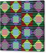 Diamond Quilt 1 Canvas Print