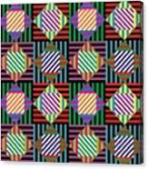 Diamond Quilt 2 Canvas Print