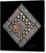 Diamond Sv Canvas Print