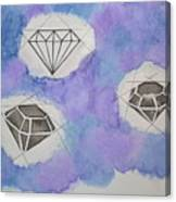 Diamonds In The Sky  Canvas Print