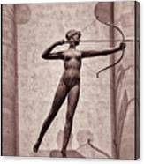 Diana - Goddess Of Hunt Canvas Print