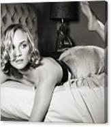 Diane Kruger Canvas Print