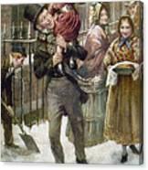 Dickens: A Christmas Carol Canvas Print