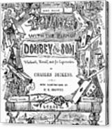 Dickens: Dombey And Son Canvas Print