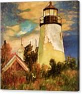 Dice Head ,castine, Maine Canvas Print